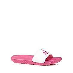 adidas - Pink slider flip flops
