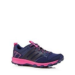adidas - Navy 'Kanadia 7 Trail' trainers
