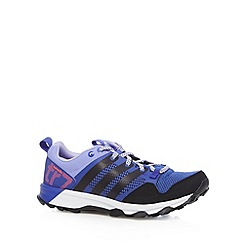 adidas - Dark purple 'Kanadia 7 Trail' trainers
