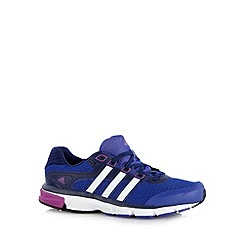adidas - Royal blue 'Nova Cushion' trainers