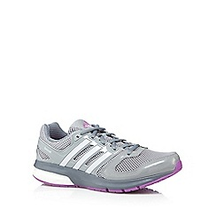 adidas - Grey 'Questar boost' running trainers