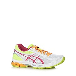 ASICS - Pink mesh gel sole running trainers