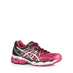 ASICS - Pink mesh panel running trainers