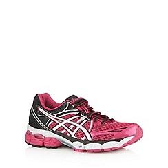 ASICS - Pink mesh panel running trainers
