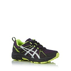 ASICS - Purple mesh running trainers