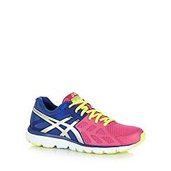 ASICS - Pink gel cushioned iridescent trainers