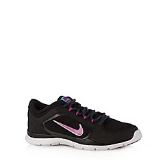 Nike - Black 'Flex 4' trainers