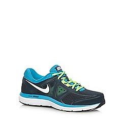 Nike - Blue 'Dual Fusion Lite 2' mesh trainers