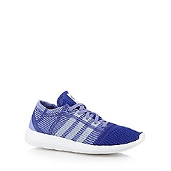 adidas - Purple 'Element Refine Tricote' running trainers