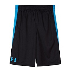 Under Armour - Boy's black 'Eliminator' gym shorts