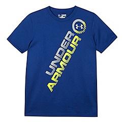 Under Armour - Boy's blue logo t-shirt