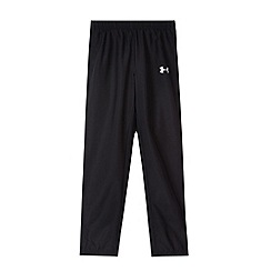 Under Armour - Boy's black woven jogging bottoms