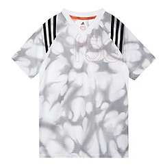 adidas - Boy's white graphic 'F50' t-shirt