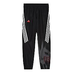 adidas - Boy's black woven 'ClimaLite' pants