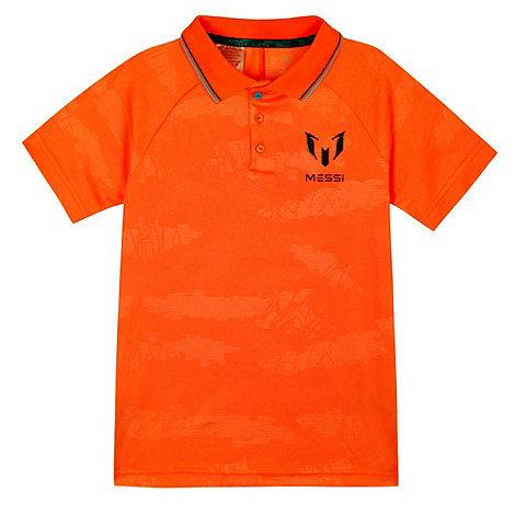 Adidas Orange t Shirt Orange 'messi' Polo Shirt