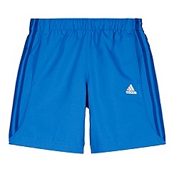 adidas - Boy's blue 'Chelsea' striped shorts