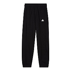 adidas - Boy's black 'ClimaLite' pants