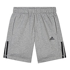adidas - Boy's grey 'ClimaLite' shorts