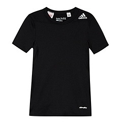 adidas - Boy's black 'Climalite' t-shirt