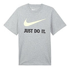 Nike - Boy's grey just do it t-shirt