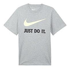 Nike - Boy's grey just do it t-shirt