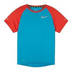 Nike - Boy's blue crew neck t-shirt