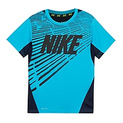 Nike - Boy's blue 'Dri-FIT' t-shirt