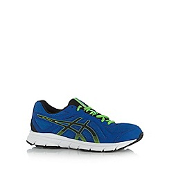 ASICS - Boy's blue gel sole running trainers