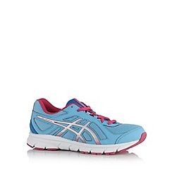 ASICS - Girl's light blue gel sole running trainers