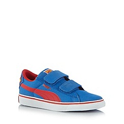 Puma - Boy's blue 'Superman' trainers