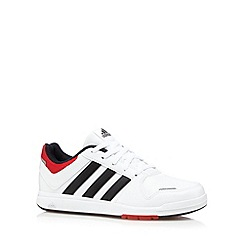 adidas - Boy's white 'LK 6' trainers