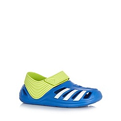 adidas - Boy's blue cutout clogs