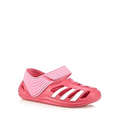 adidas - Girl's pink 'zsandal' sandals