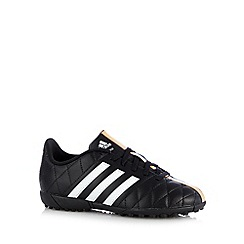 adidas - Boy's black '11Questra' trainers