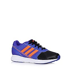 adidas - Boy's purple 'Hyperfast' trainers