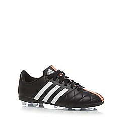 adidas - Boy's black 'II Questra' football boots