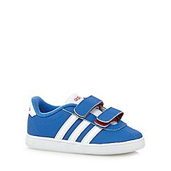 adidas - Boy's blue 'VLNeo Court' trainers