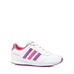 adidas - Girl's white 'Switch VS' trainers