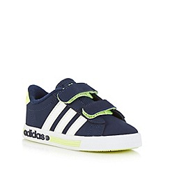 adidas - Boy's navy 'Daily Team' trainers
