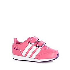 adidas - Babies pink 'Switch VS' trainers
