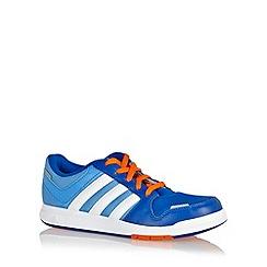 adidas - Boy's blue 'LK Trainer 6' trainers