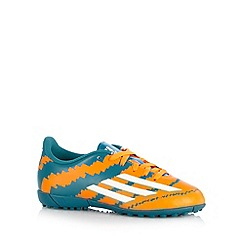 adidas - Boy's dark green 'Messi' football boots