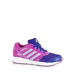 adidas - Girl's purple 'Hyperfast' trainers