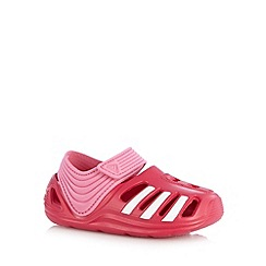 adidas - Girl's pink rip tape clogs