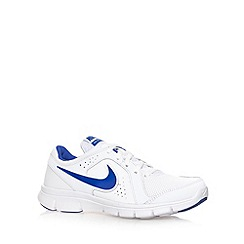 Nike - Boy's white 'Flex Experience' trainers