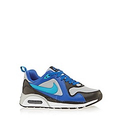 Nike - Boy's blue 'Air Max Trax' trainers