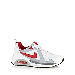 Nike - Boy's white 'Air Max Trax' trainers