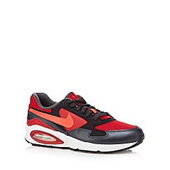 Nike - Boy's red 'Air Max Trax' trainers