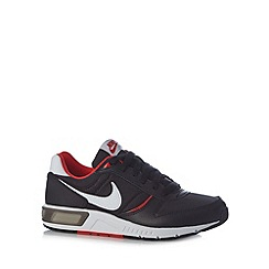 Nike - Black 'Nightgazer' lace up trainers