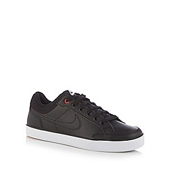 Nike - Boy's black 'Capri 3' leather trainers